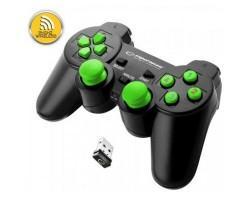 Геймпад Esperanza Gladiator PC/PS3 Black-Green (EGG108G)