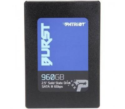 """Накопичувач SSD 2.5"""" 960GB Patriot (PBU960GS25SSDR)"""