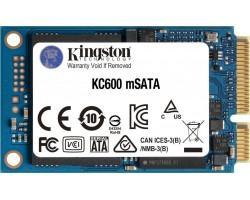 Накопичувач SSD 1TB Kingston KC600 mSATA SATAIII 3D NAND TLC (SKC600MS/1024G)