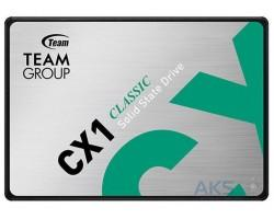 """Накопичувач SSD 2.5"""" 480 GB Team CX1 (T253X5480G0C101)"""