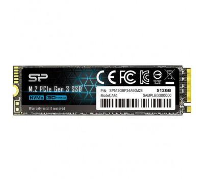Накопичувач Silicon Power P34A60 512 GB (SP512GBP34A60M28)