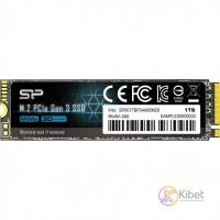 Накопичувач SSD 1Tb NVMe PCIe Gen3x4 M.2 2280 SILICON POWER P34A80