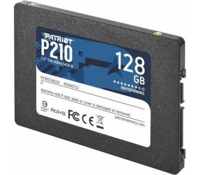 "Накопичувач SSD 2.5"" Patriot 128GB SATA TLC P210 P210S128G25"
