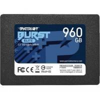"Накопичувач SSD Patriot Burst Elite 960GB 2.5"" SATAIII TLC (PBE960GS25SSDR)"