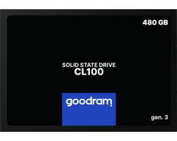 """Накопичувач SSD 2.5"""" 480GB GOODRAM (SSDPR-CL100-480-G3)"""