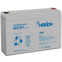 Батарея до ДБЖ Merlion 6V-7Ah (GP670F1)