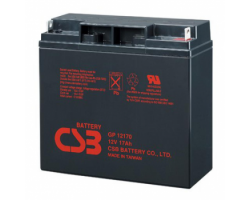 Батарея до ДБЖ CSB 12V, 17A (GP12170) AGM