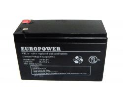Батарея до ДБЖ Europower 12В 9Ач (EP12-9F2)