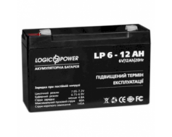 Батарея до ДБЖ LogicPower AGM LPM 6-12 AH
