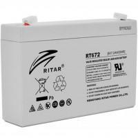 Батарея до ДБЖ Ritar AGM RT672, 6V-7.2Ah (RT672)
