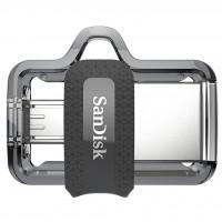 USB флеш накопичувач SANDISK 128GB Ultra Dual Drive M3.0 USB 3.0 (SDDD3-128G-G46)