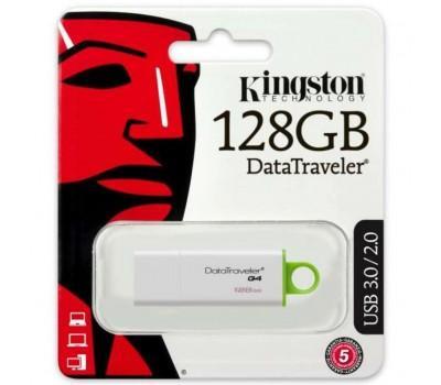 USB флеш накопичувач Kingston 128Gb DataTraveler Generation 4 (DTIG4/128GB)