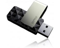 USB флеш накопичувач  Silicon Power 256GB Blaze B30 USB 3.0 Black (SP256GBUF3B30V1K)