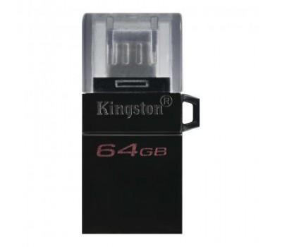 USB флеш накопичувач Kingston 64GB microDuo USB 3.2/microUSB (DTDUO3G2/64GB)