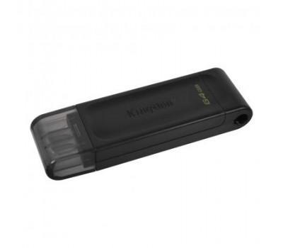 USB флеш накопичувач Kingston 64GB DataTraveler 70 USB 3.2 / Type-C (DT70/64GB)