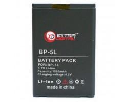 Акумуляторна батарея EXTRADIGITAL Nokia BP-5L (1500 mAh) (DV00DV6039)