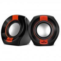 Акустична система REAL-EL S-50 black-red