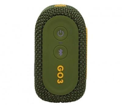Акустична система JBL Go 3 Green (JBLGO3GRN)