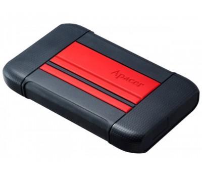 Жорсткий диск зовнішній Apacer AC633 1TB USB 3.1 Power Red (AP1TBAC633R-1)