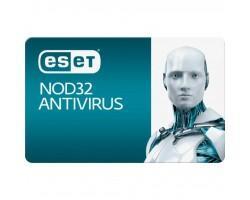 Антивірус ESET NOD32 Antivirus 2ПК 12 мес. base/20 мес продление конверт (2012-17-key)