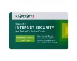 Антивірус Kaspersky Internet Security for Android 1-PDA 1 year Base Card (KL1091OOAFS17)