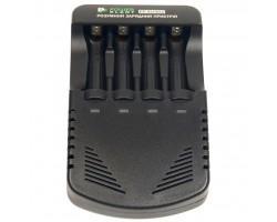 Зарядний пристрій для акумуляторів PowerPlant PP-EU402 / АА, AAA (AA620005)