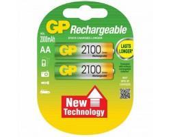 Акумулятор GP AA R6 2500mAh 1,2V * 2 (GP210AAHC-2UEC2)