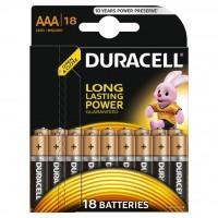 Батарейка Duracell LR03 * 18 (5000394107557 / 81546741)