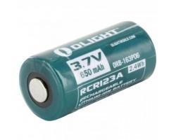 Акумулятор Olight RCR123 (16340) Li-Ion 650 mAh (ORB2-163P06)