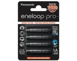 Акумулятор PANASONIC Eneloop Pro AA 2500mAh NI-MH (BK-3HCDE/4BE) (поштучно)