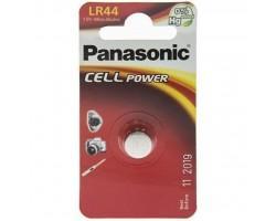 Батарейка PANASONIC LR44 * 1 (LR-44EL/1B)