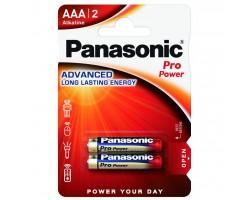 Батарейка PANASONIC AAA LR03 Pro Power * 2 (LR03XEG/2BPR / LR03XEG/2BP)