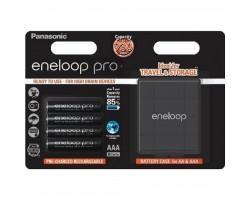 Акумулятор PANASONIC Eneloop Pro AAA 930 mAh * 4 + Case (BK-4HCDEC4BE)