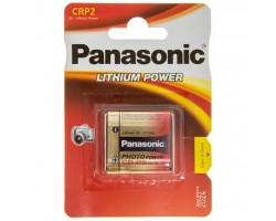 Батарейка PANASONIC CR P2 * 1 LITHIUM (CR-P2L/1BP)