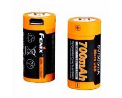 Акумулятор Fenix 16340 700 UP mAh Li-ion micro usb (ARB-L16-700UP)