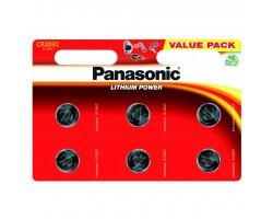 Батарейка PANASONIC CR 2032 * 6 LITHIUM (CR-2032EL/6B) (ціна за шт)