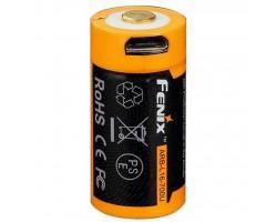 Акумулятор Fenix 16340 Fenix 700 mAh Li-ion micro usb (ARB-L16-700U)