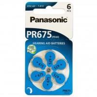 Батарейка PANASONIC PR44 / PR675 (1.4V) * 6 (PR-675H/6LB)