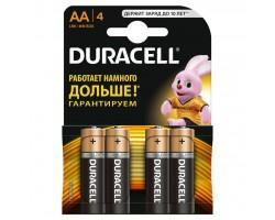 Батарейка Duracell AA MN1500 LR06 * 4 (5000394052536 / 81551270)