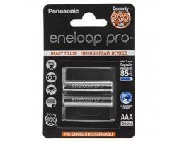 Акумулятор PANASONIC Eneloop Pro AAA 930 mAh NI-MH * 2 (BK-4HCDE/2BE) (поштучно)