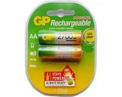 Акумулятор AA R6 2700mAh * 2 GP (GP270AAHC-2PL2)