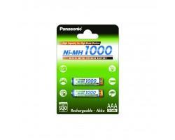 Акумулятор PANASONIC High Capacity AAA 1000 mAh NI-MH * 2 (BK-4HGAE/2BE)
