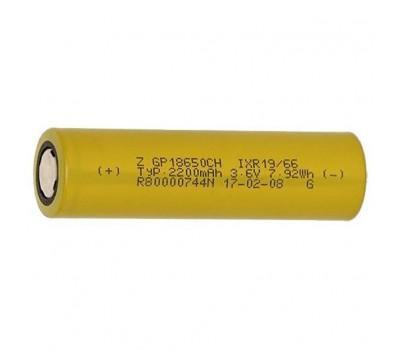 Акумулятор GP 18650 2200 mAh (max 6.6А) (GP1865T220)