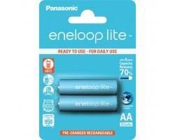 Акумулятор PANASONIC Eneloop Lite AA 950mAh NI-MH * 2 (BK-3LCCE/2BE)