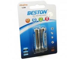 Батарейка BESTON AA 1.5V Alkaline * 2 (AAB1830)
