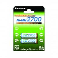 Акумулятор PANASONIC High Capacity AA 2700 mAh * 2 (BK-3HGAE/2BE) (поштучно)