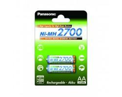 Акумулятор PANASONIC High Capacity AA 2700 mAh * 2 (BK-3HGAE/2BE) (поштучно)