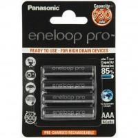 Акумулятор PANASONIC Eneloop Pro AAA 930 mAh NI-MH * 4 (BK-4HCDE/4BE)
