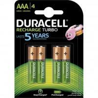 Акумулятор Duracell AAA TURBO HR03 900mAh * 4 (5005015)
