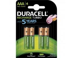 Акумулятор Duracell AAA TURBO HR03 900mAh * 4 (5005015)